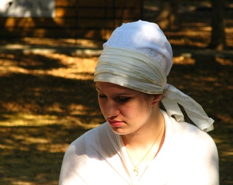 SINAR TICHEL, hair covering,sinar tichel,chemo headwear,tichel,head covering,hair loss
