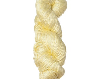Milk-Bamboo Yarn - Bulky Weight - Pastel Yellow