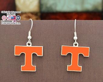 Tennessee Volunteers Epoxy Logo Earrings