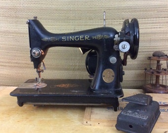 Singer Sewing Machine 1950.  Lower Price. Refurbished and Works