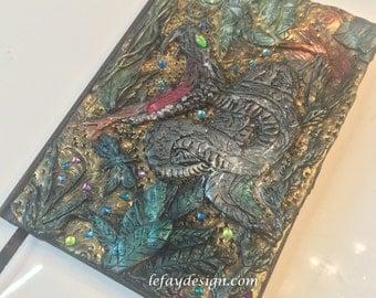 Snake Bite Polymer Clay Journal / Book