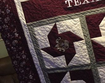 College Football Quilt