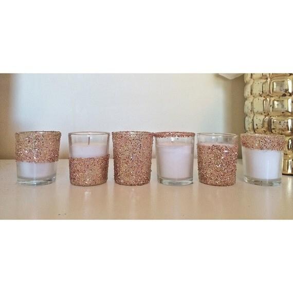 25 rose gold votives votive candle holder rose gold. Black Bedroom Furniture Sets. Home Design Ideas