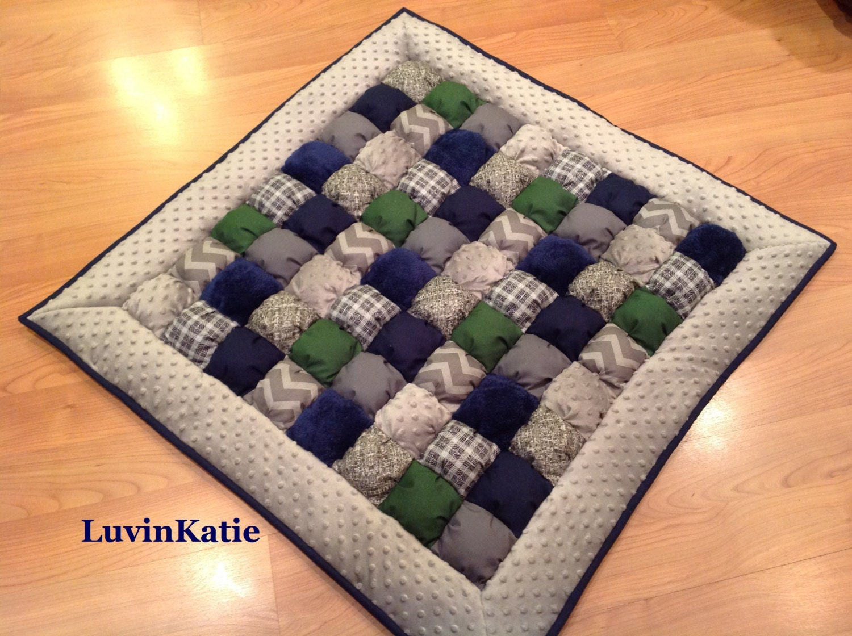 Baby bubble quilt bubble blanket puff quilt baby floor mat for Floor quilt for babies
