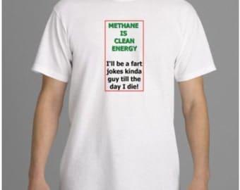 GREEN FART JOKE t-shirt