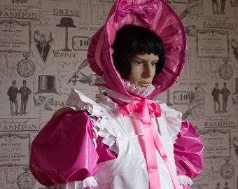 Sissy PVC & Vinyl Bonnet Ask ABout Colour Choices