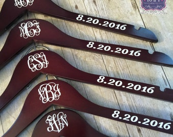 Monogram Hangers - Personalized for Bridesmaids, Prom or Communion!