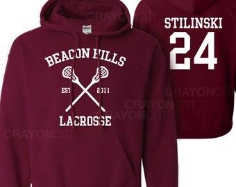 Teen Wolf Beacon Hills Lacrosse Hoodie Stilinski 24 Hoodie