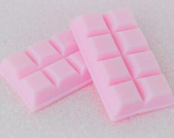 60mm HUGE Kawaii Pink Chocolate Bar Sweet Candy Decoden Cabochon - 1 piece set
