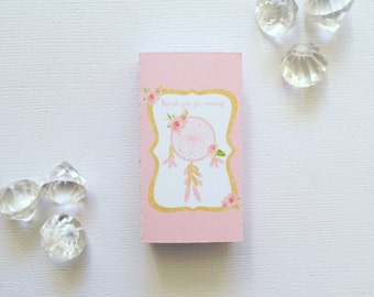Boho pink boxes cover