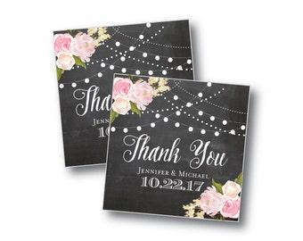Printable Wedding Favor Tags - Favor Tags - Printable Thank You Tag - Rustic Favor Tags - Country Chic - Thank You Tags - Gift Favor Tags