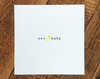 Baby Card; 'New Baby' (GC370)