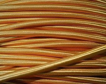 1 meter gold silk covered 3 core light flex B4