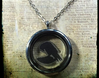 Necklace theca crow