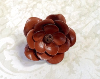 Clip Chestnut Flower Hair Clip And Pin