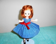 SALE TODAY ONLY 99.00!!!A  Lovely Betsy Mccall American Character Doll/1950's/Original Shoes and Dress/Comes w Extra Handmade Outfit!