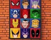 Minimalism Art - Marvel H...