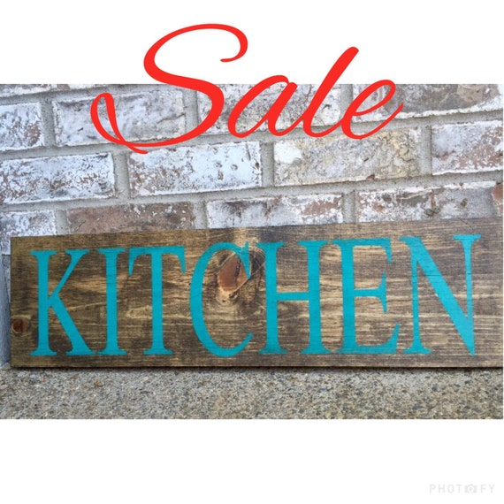Kitchen Signs For Sale: RedRoanSigns