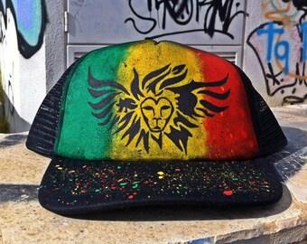 "TRUKCER cap ""WINGED LION"""