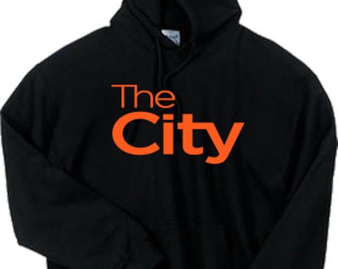 The City 2 San Francisco Hoodie Sweater BLACK Orange SF Giants SFC The Bay