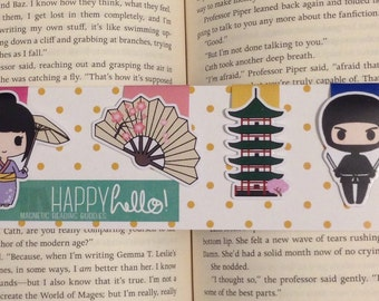 Magnetic Bookmarks • Japan
