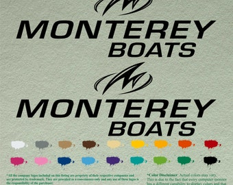 Pair Meyers Decals Vinyl Stickers Boat Outboard Motor Lot Of - Baja boat decals   easy removal