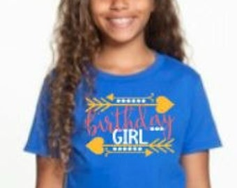 Birthday Girl Celebration Shirt - for girls of all ages!