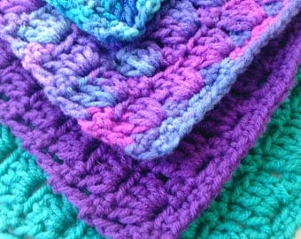 4pc Crochet Dish Cloth Set