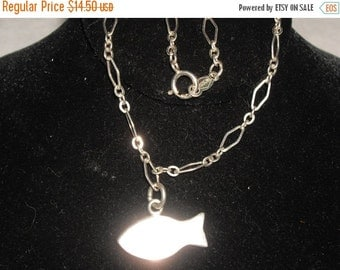 Sterling 925 Silver Fish Anklet 2.9 g