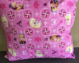 Frozen on Pink Cushion Cover