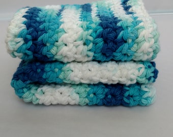 100% Cotton Crochet Washcloths