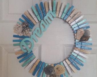 Beach style wreath