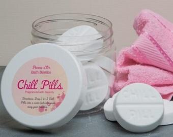 Chill Pill Bath Bombs - kind to sensitive skin