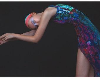 Printed Dress. Cloriss B