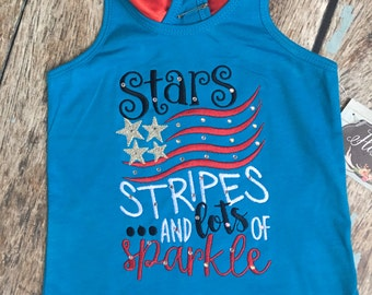 Stars Stripes and lots of Sparkle