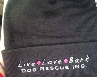 Live.Love.Bark Beanie Hat