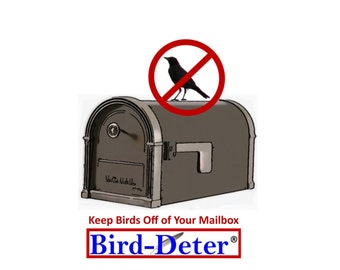 Keep Bird Poop Droppings Off of Your Mailbox.