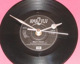 "Amazulu mony mony  7"" vinyl record clock"