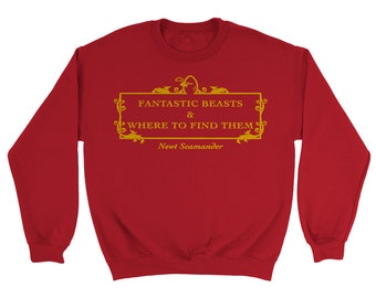Fantastic Beasts and Where To Find Them Fan Designed Sweatshirt, Harry Potter Inspired
