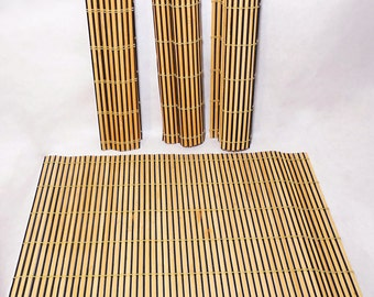 Vintage Bamboo Placemats