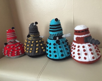 Knitted Dalek from Doctor Who