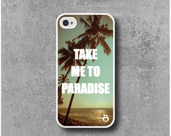 IPhone 4 / 4s Case Paradise Palm trees