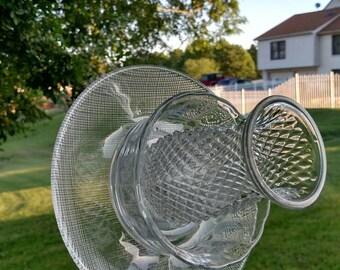 Vintage Glass Suncatcher Flower. Free shipping!