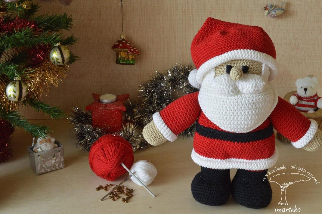 Amigurumi Father Christmas : Amigurumi Santa Claus Amigurumi Christmas Amigurumi by ...