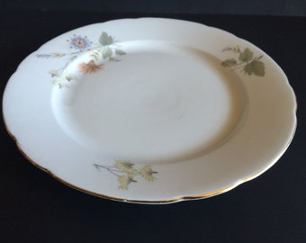 Porcelain Plate with Floral Pattern by Korok