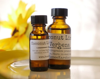 Coconut Lime Verbena Essential Oil Fragrance 1 oz