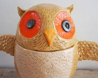 Owl Cremation Urn