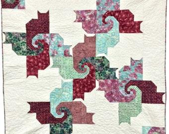 Psycho Cats Quilt Pattern