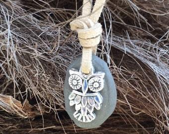 Owl Aromatherapy Necklace