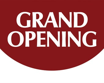 Grand Opening Promotional Banner 3 x 2 FT